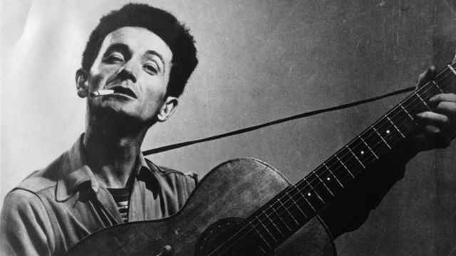 Woody Guthrie inspired a generation of folkies