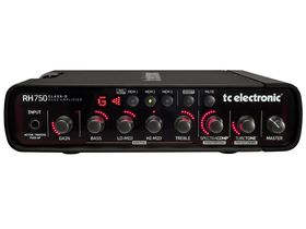 Musikmesse 2011: TC Electronic announces RH750 compact bass amp head