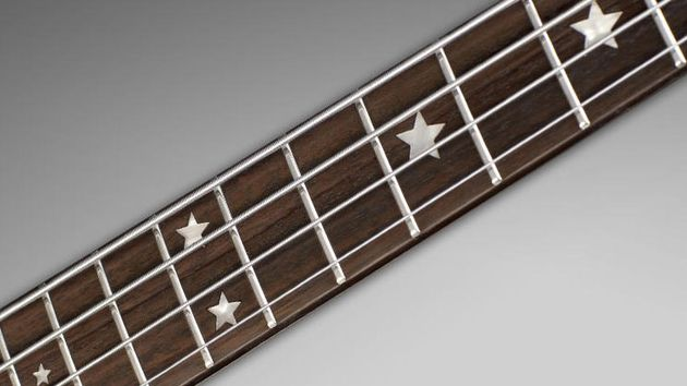 Star inlays and Rosewood fingerboard