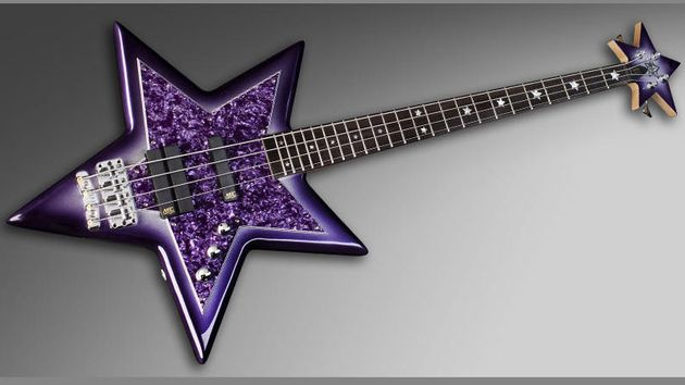 "Bootsy Collins Space Bass complete with ""Special"" purple Bootsy finish"
