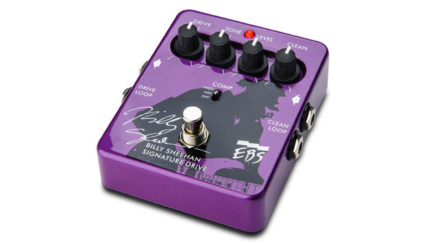 It's a pretty powerful purple pedal, don't you know