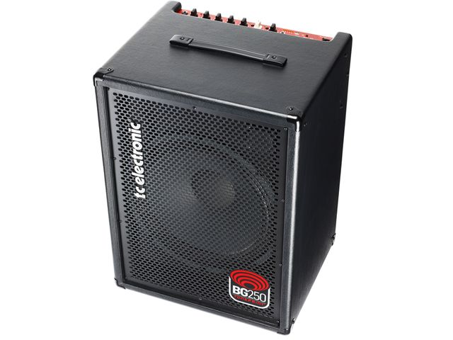 TC Electronic's BG50 bass combo amp is TonePrint-enabled