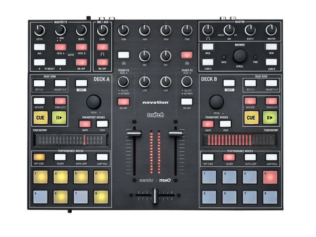 A new DJ controller designed in collaboration with Serato.