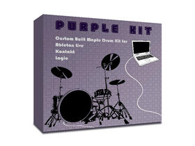 Puremagnetik Purple Kit drum sample library