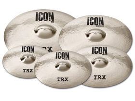 TRX introduces 'Icon' series cymbals