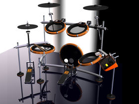 2box e-drums feature two pad sensors