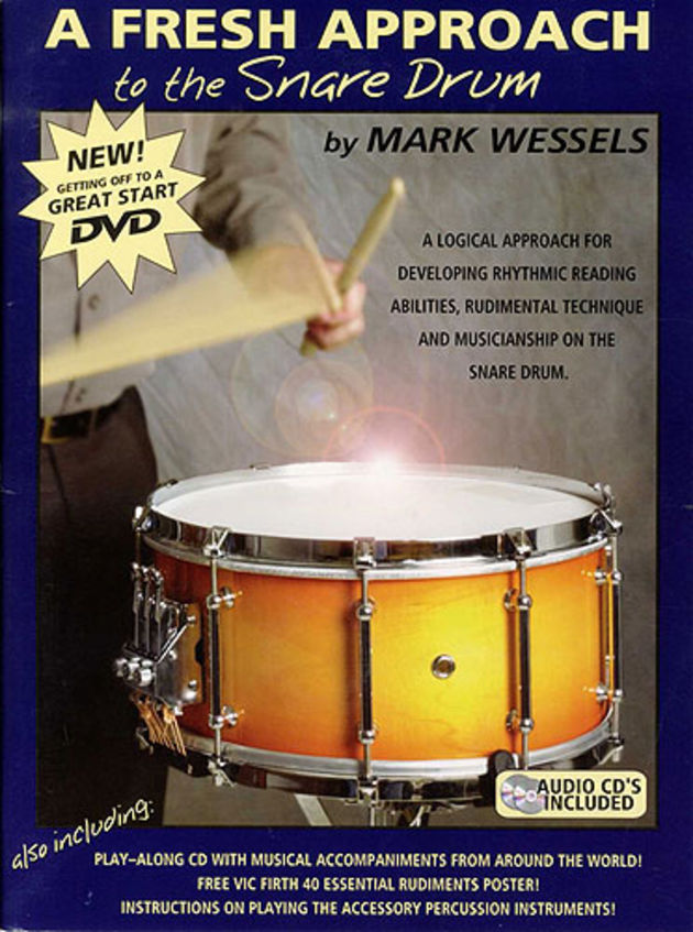 The book includes a DVD and two practice CDs.