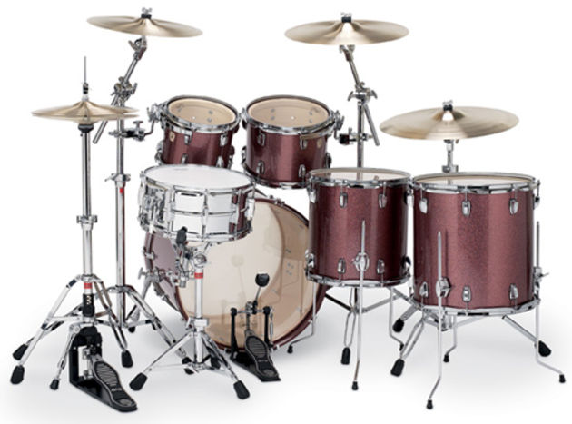 Equiped with genuine Weathermaster drumheads.