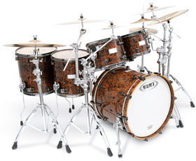 Handmade in Italy: Mapex Orion Chocolate Burl