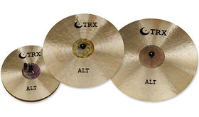 "TRX Cymbals add an 18"" crash-ride"