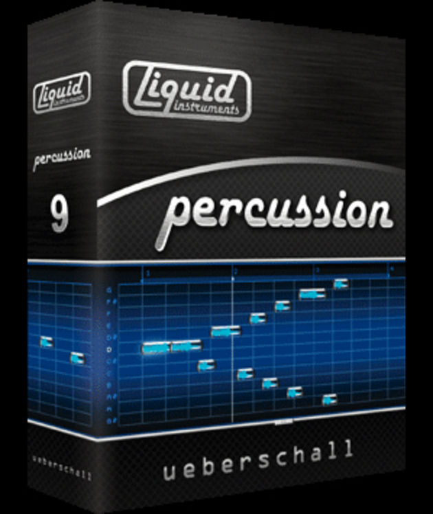 Liquid Percussion v9 - full of African and Latin treats
