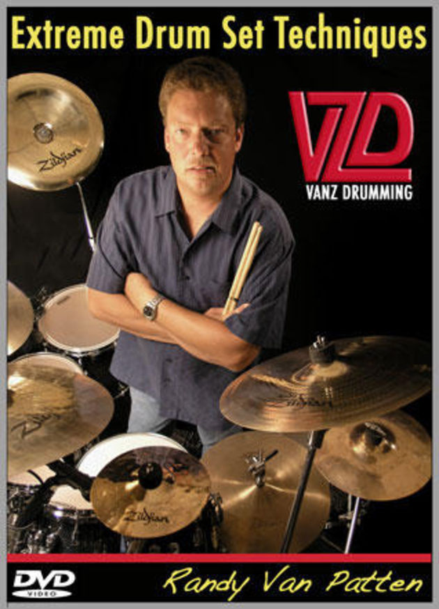 The DVD features nearly two hours of drum instruction.