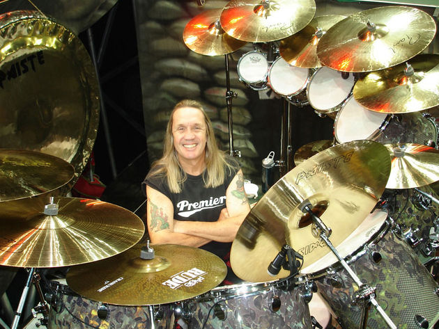 Nicko McBrain: Iron Maiden sticksman for more than two decades