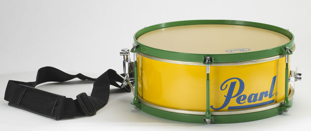 The snare is known as the Caixa (Kai-sha) when played in Samba music