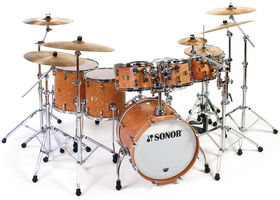 Journey drummer Steve Smith unveils Sonor kit