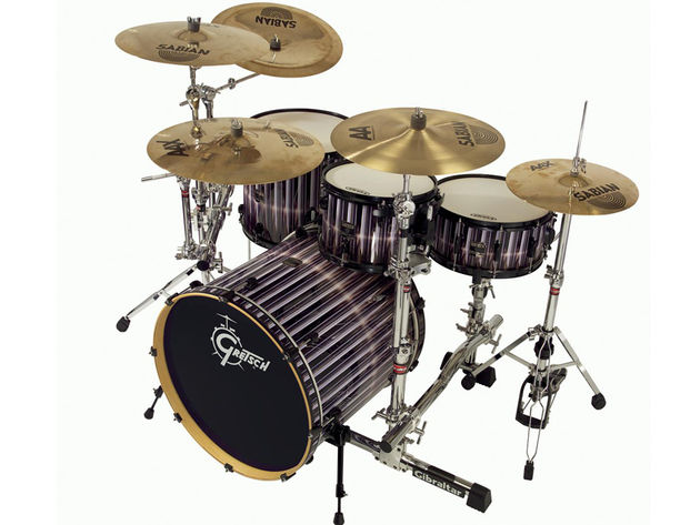You can't beat a real kit being played by a real drummer, says Voxengo.