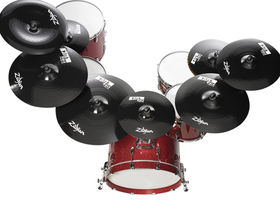 Zildjian paints it black with Pitch Black cymbals