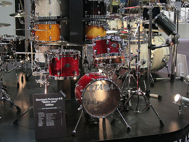 The Metro-Jam on display in the Tama booth