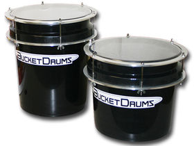 Kick the bucket with BucketDrums
