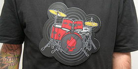 Electronic drumkit t-shirt