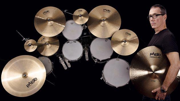 Paiste Formula 206 Modern Essentials cymbals