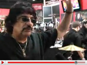 Carmine Appice talks Drumfest, signature ddrum kit