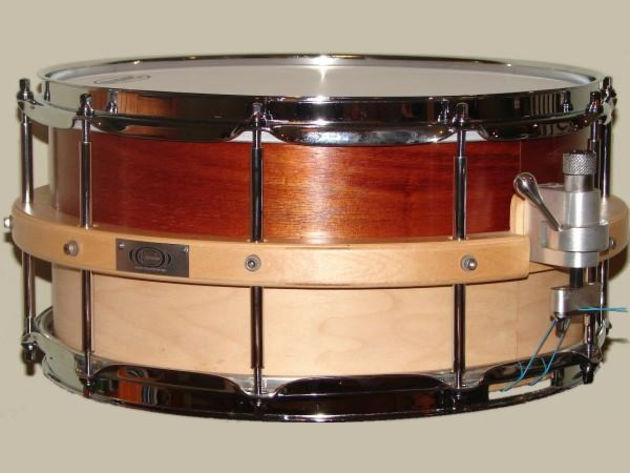 Organic Custom Drums' Hybrid - Zebra snare coming soon