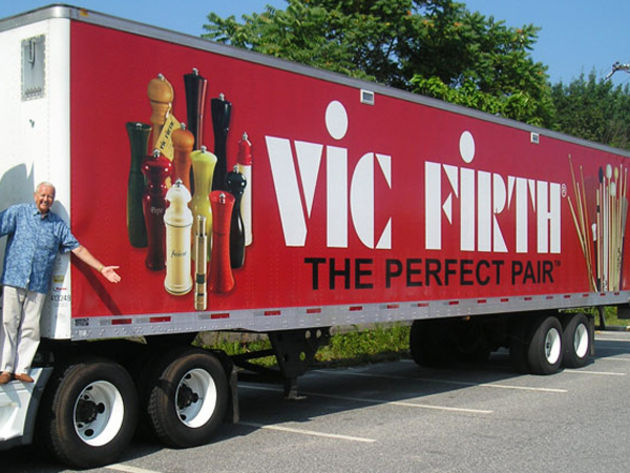 Vic Firth: 90k sticks a day!