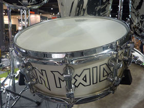 Musikmesse 2011: Premier unveils Iron Maiden drum kit series deal on video