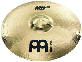 "Meinl adds 20"" Heavy Bell Ride to Mb20 Series"