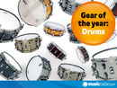 The best drum gear of 2010: sets, ekits, cymbals, snares and more