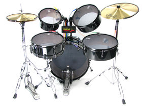 Omega GM-1 brings real drums, cymbals to Rock Band