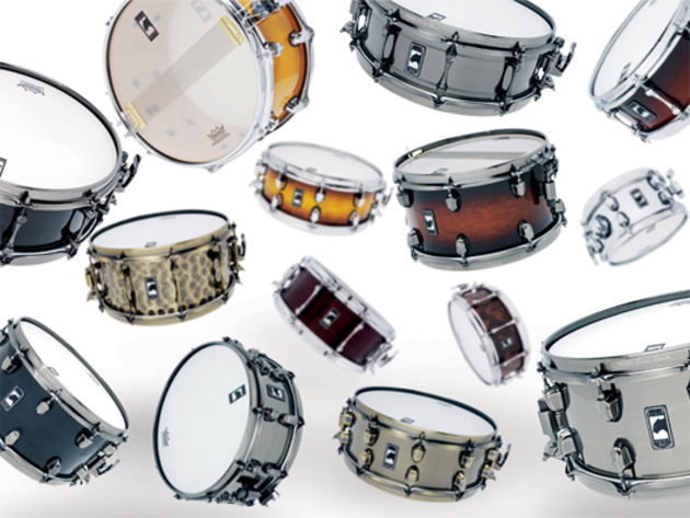 Mapex's new Black Panther snare range