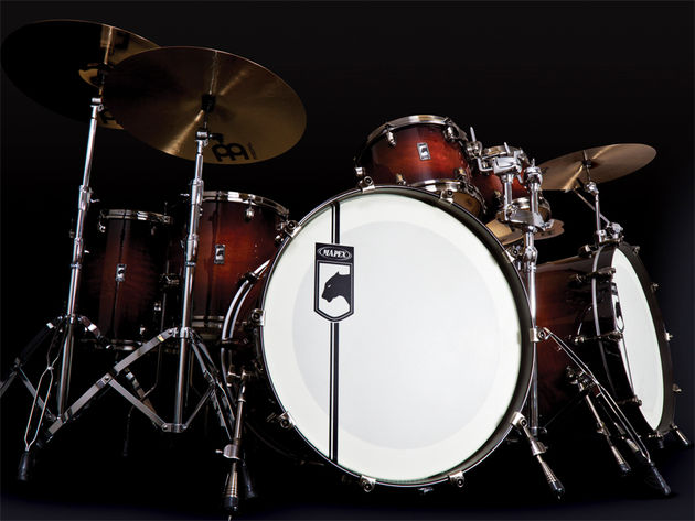 Mapex Black Panther drum kits