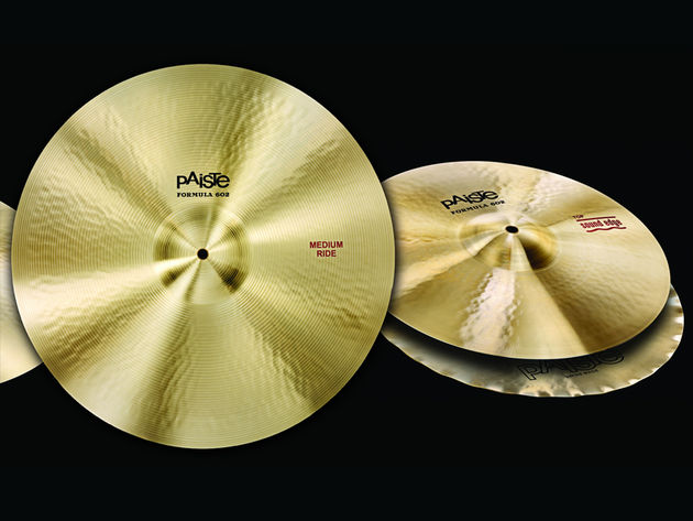 Paiste Formula 602 Cymbals