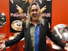 NAMM 2012 VIDEO: Paiste's Nicko McBrain Boomer cymbals