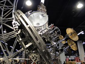 NAMM 2012 VIDEO: Pearl Drums - Tommy Lee's rollercoaster set, Session Studio Classic