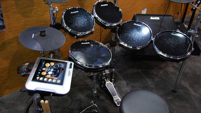 Alesis DM Dock kit on the showfloor