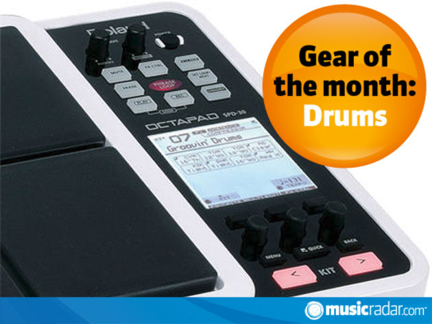 Drum gear of the month: June-July 2010