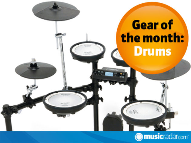 Mar-April 2010: electronic kits, snares and cymbals