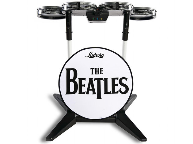 The beatles: rock band ludwig drums
