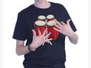 Electronic bongo t-shirt: wearable drum machine