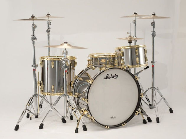 Ludwig Stainless Steel Pro Beat outfit
