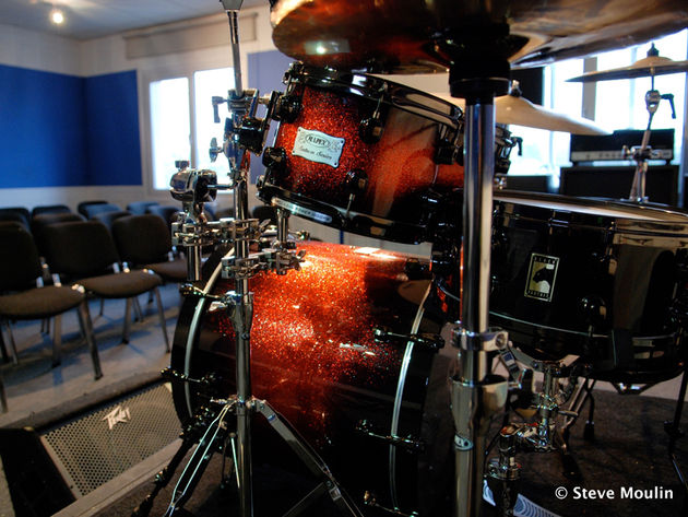 Mapex Saturn Supernova – just one of the kits supplied by Mapex to Drumtech
