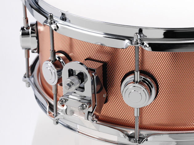 DW's new-for-2010 Collector's Series snare drums