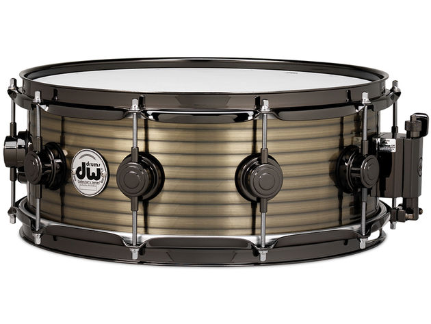 DW Vintage Steel snare in brass ($749-$799)