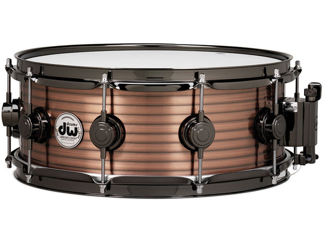 DW Vintage Steel snare in copper ($749-$799)