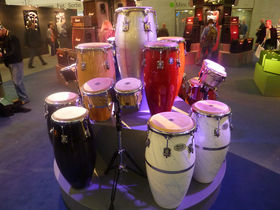 Musikmesse 2010: Marshall's Natal Drums in action!