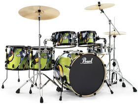 Musikmesse 2010: Pearl unveils VSX graffiti graphic drum kit
