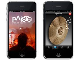 Paiste releases iPhone app